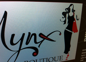 Mynx Boutique Logo Design